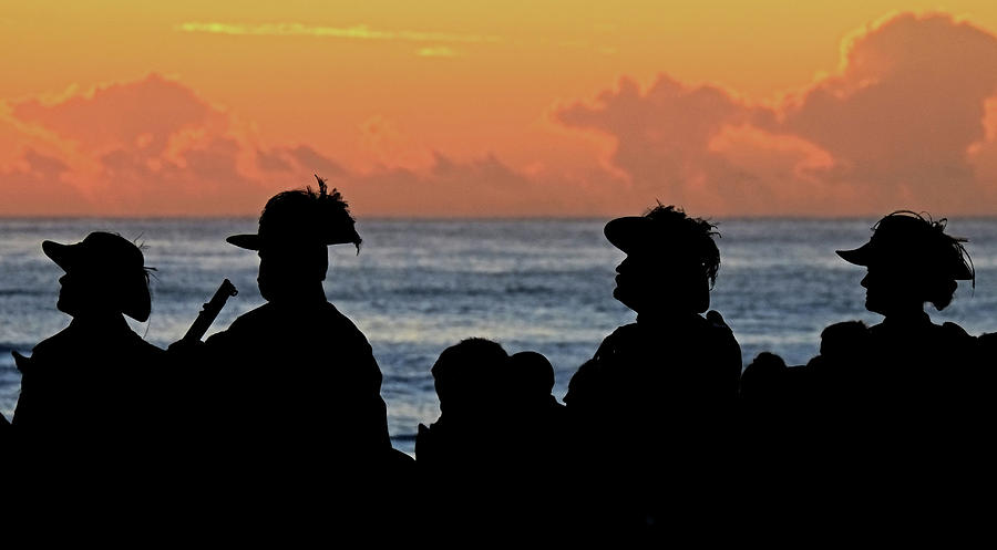 Dawn Service Anzac Day by Catherine Reading