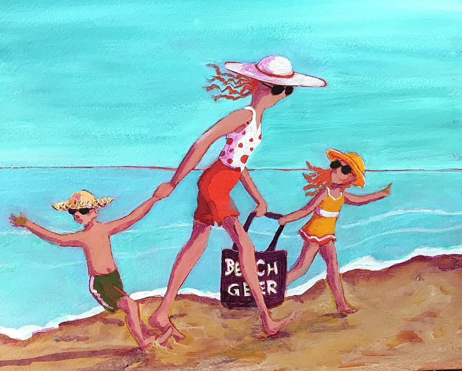 Day at the Beach by Marilyn Jacobson