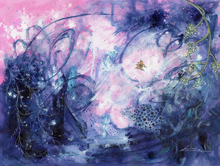 Dreamscape Painting - Day Fifty-two - Dreamscape by Kume Bryant