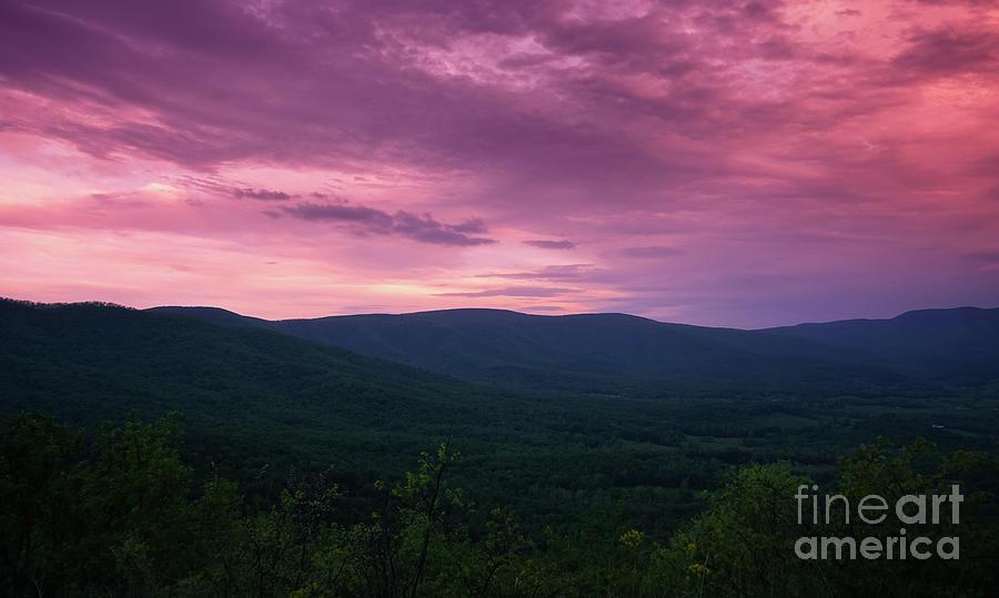 Day is Done in The Blue Ridge by Rachel Cohen