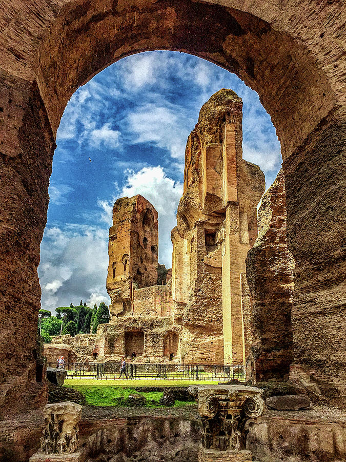 Baths Of Caracalla Photograph - Day Spa by Joseph Yarbrough