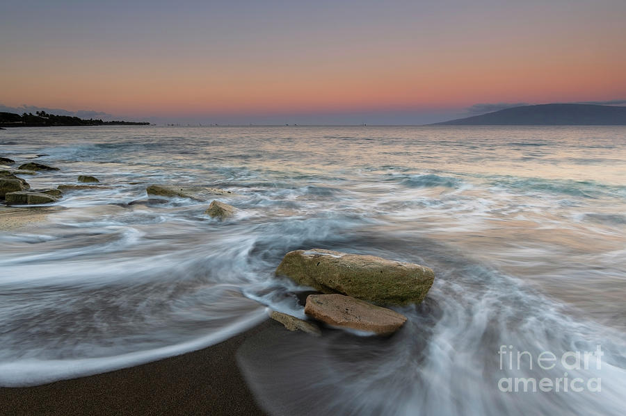 Daybreak over Lanai by Mike Dawson