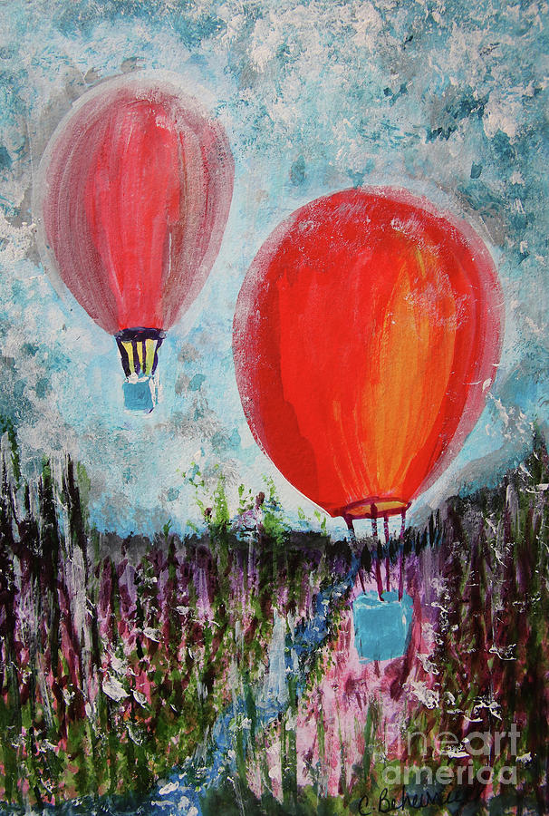 Daydream Balloon Ride  by Cathy Beharriell