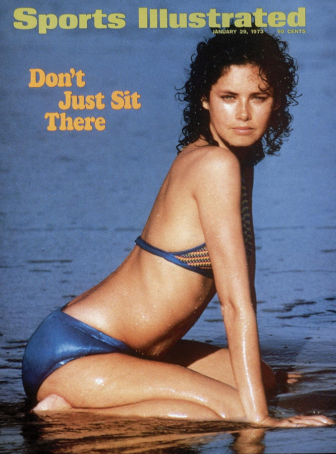 Dayle Haddon Swimsuit 1973 Sports Illustrated Cover Photograph by Sports Illustrated