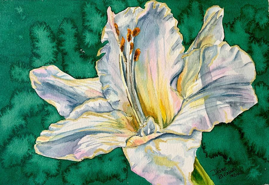 Daylily W by Diane Ziemski