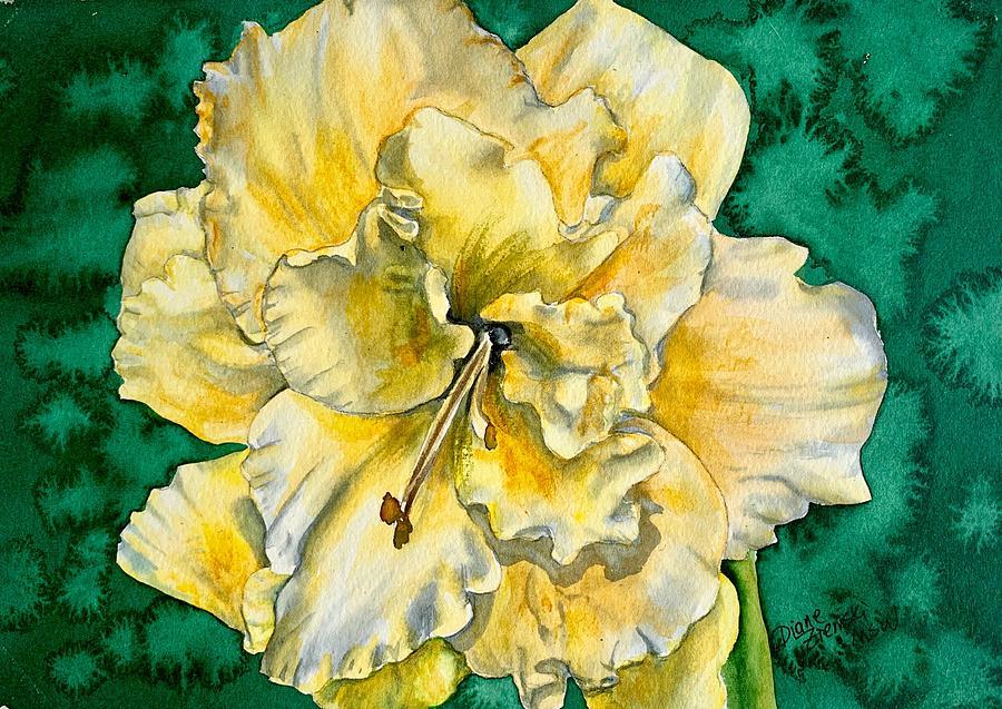 Daylily Y by Diane Ziemski