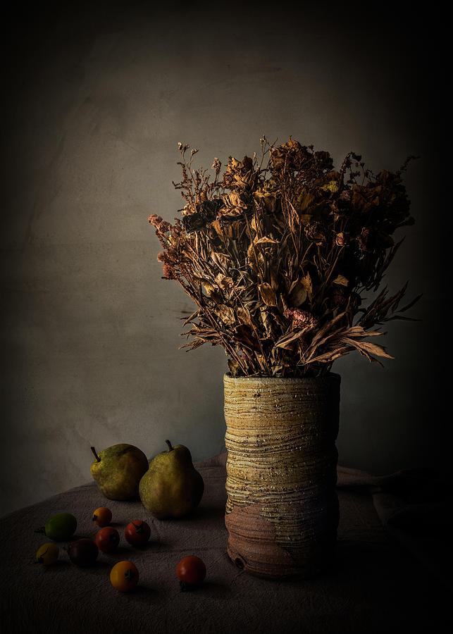 Vase Photograph - Days Gone By by Nob Noza