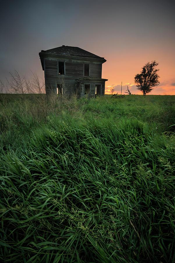 Aaron Groen Photograph - Days Of Old by Aaron J Groen