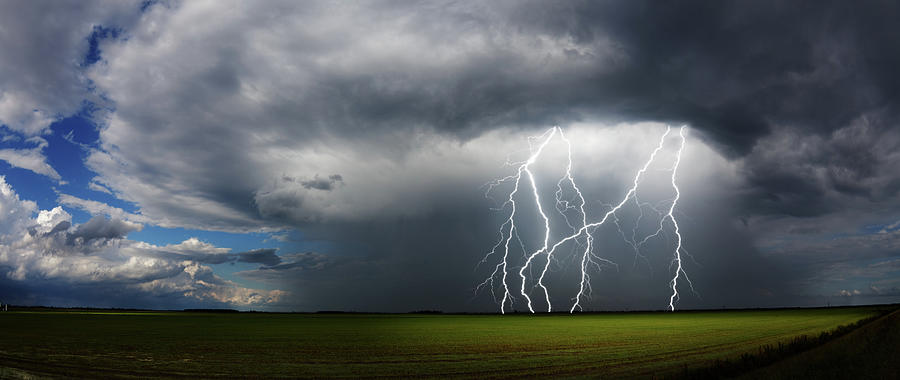Daytime Thunderstorm Photograph by Clintspencer