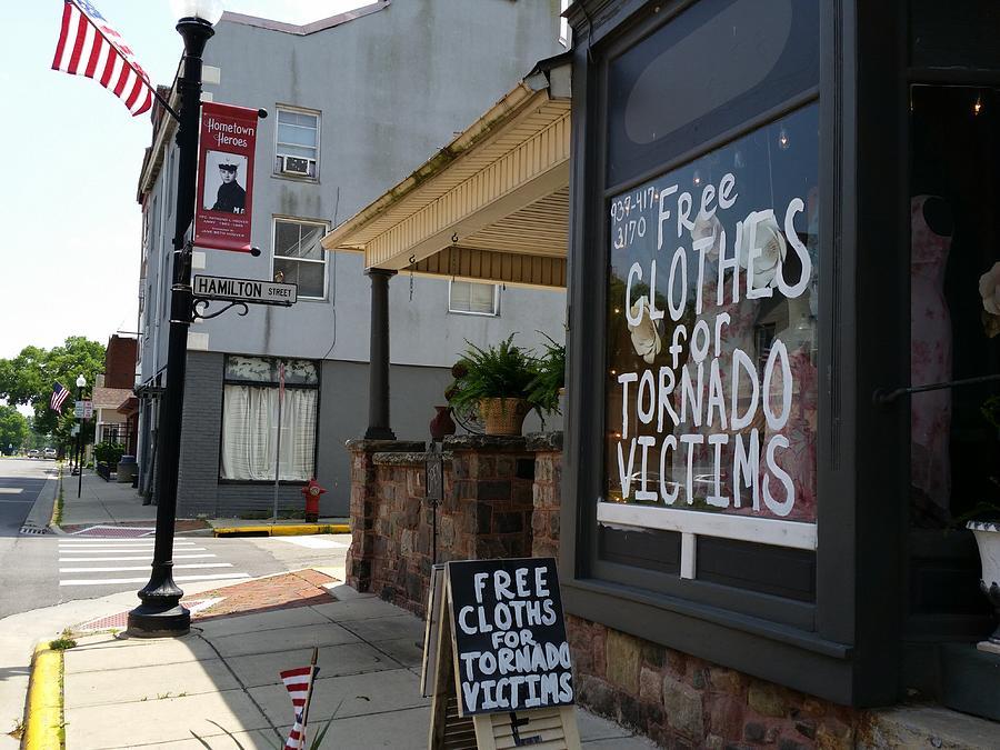 Dayton Tornado  by Michael L Kimble