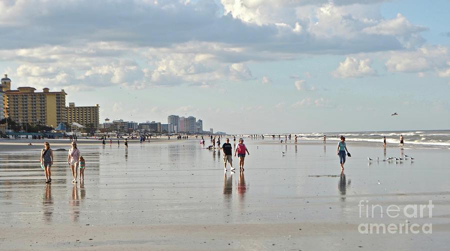 Daytona Beach Reflections Photograph