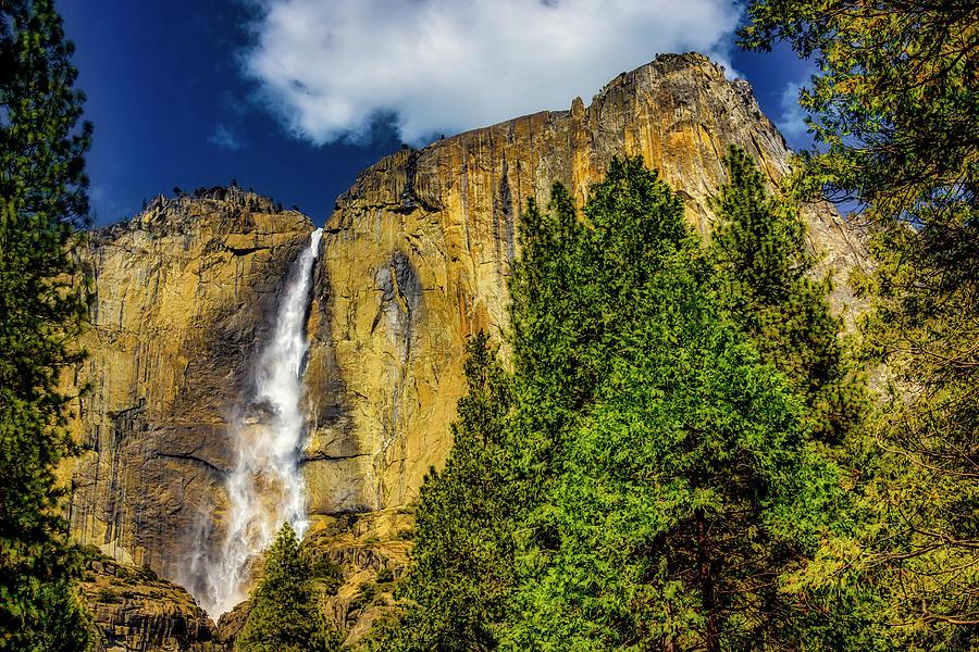 Dazzling Yosemite Falls by Garry Gay