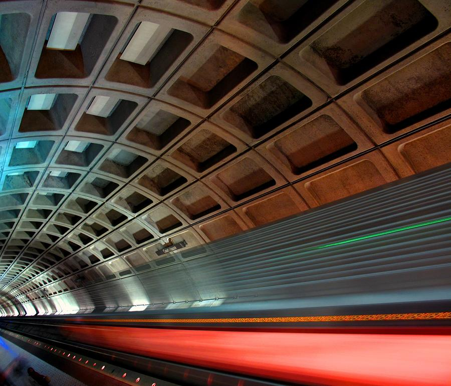 Dc Subway Photograph by Patrick Yuen