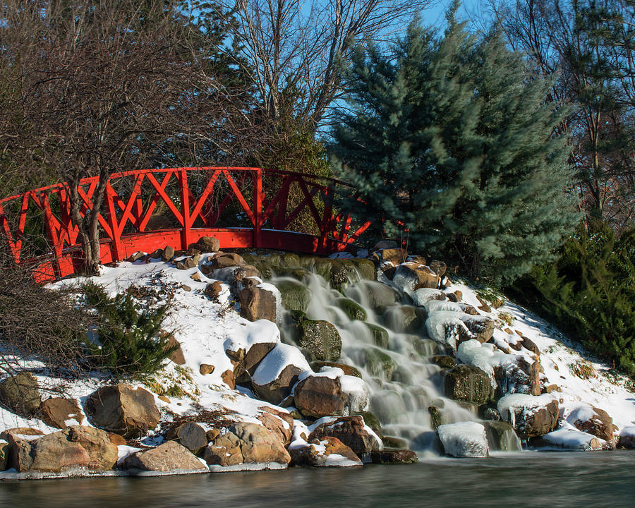 DDP DJD Bradley Falls in Winter 28 by David Drew