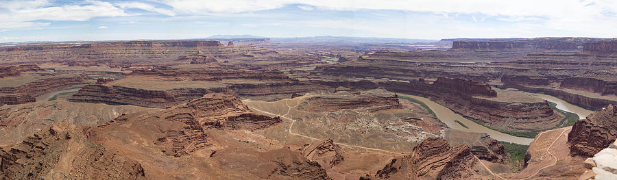 Dead Horse Point Panorama by David Salter