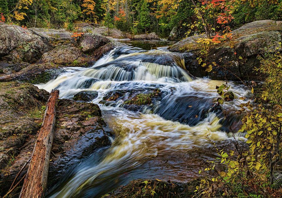 Dead River Waterfall by Joe Holley