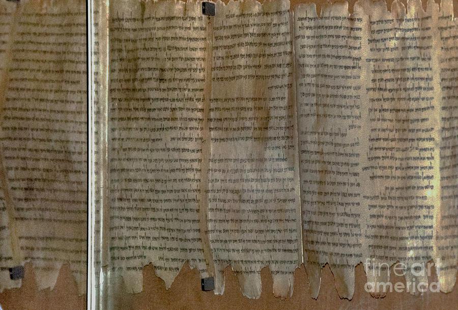 Dead Sea Scroll Photograph - Dead Sea Scroll by Mae Wertz