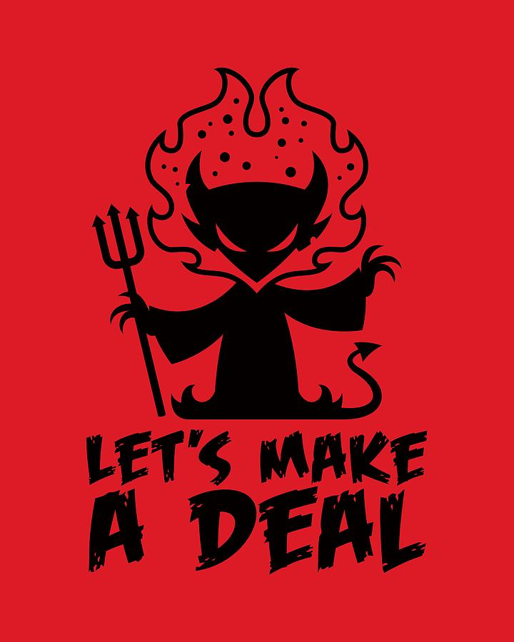Deal With The Devil Digital Art