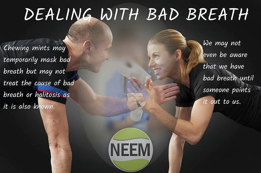 Dealing With Bad Breath by Natalie Waller