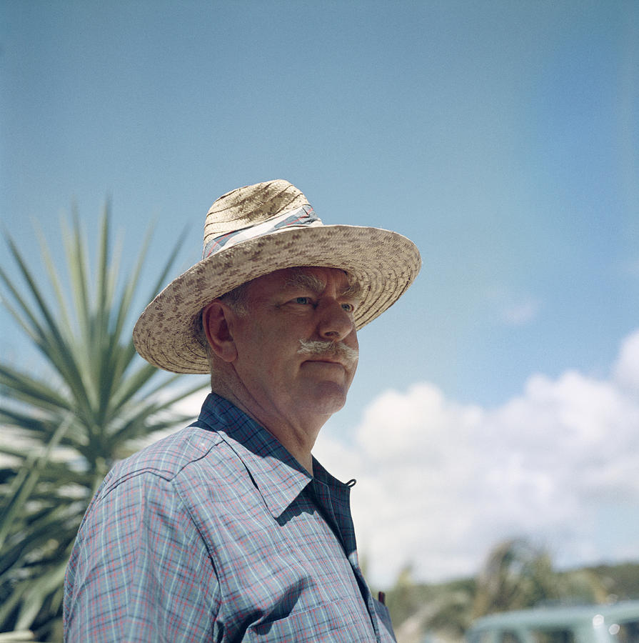 Dean Acheson Off Duty Photograph by Slim Aarons