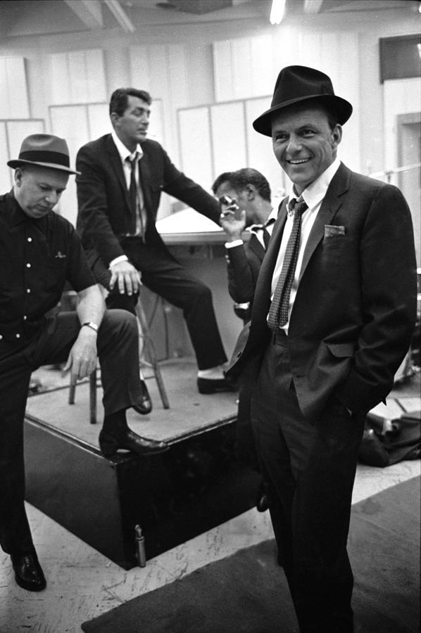 Dean Martinsammy Jr. Davisfrank Sinatra Photograph by Gjon Mili