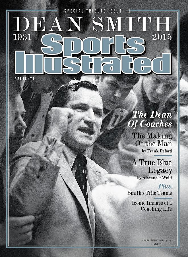 Dean Smith, 1931 - 2015 Special Tribute Issue Sports Illustrated Cover Photograph by Sports Illustrated