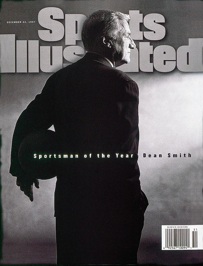 Dean Smith, 1997 Sportsman Of The Year Sports Illustrated Cover Photograph by Sports Illustrated