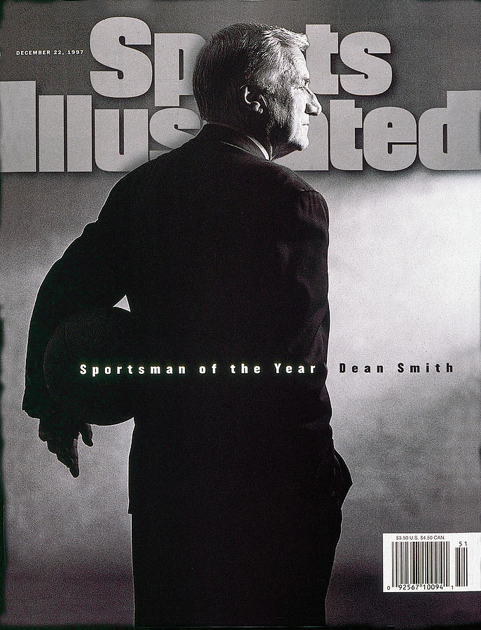 Dean Smith 1997 Sportsman Of The Year Sports Illustrated Cover Photograph by Sports Illustrated