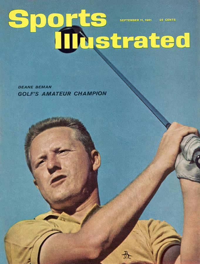 Deane Beman, Amateur Golf Champion Sports Illustrated Cover Photograph by Sports Illustrated