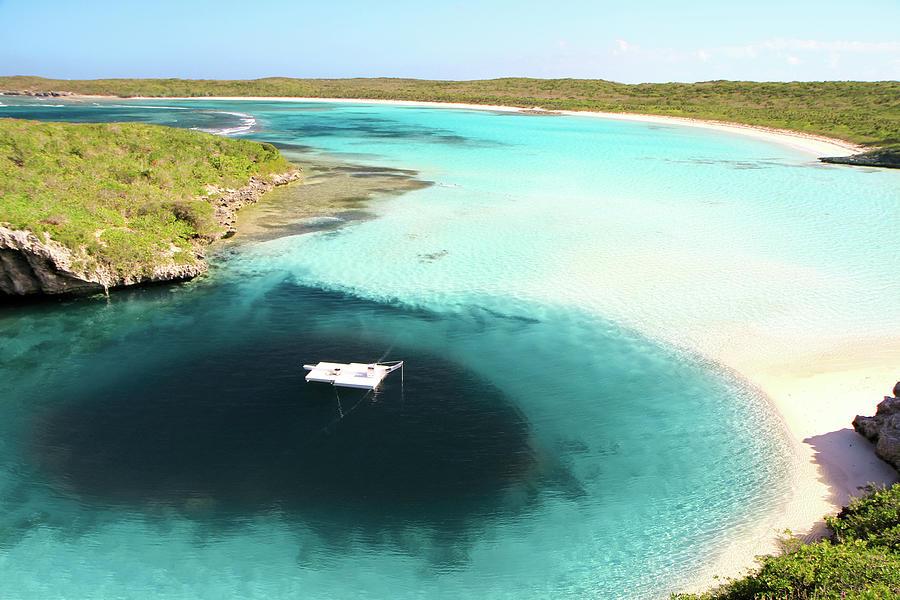 Deans Blue Hole.bahamas Photograph by Enn Li Photography