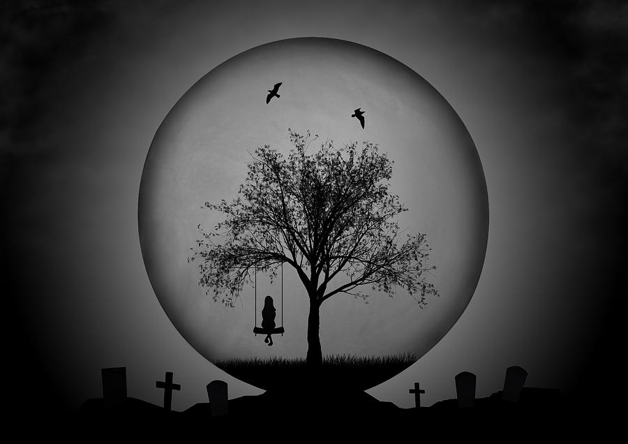 Creative Edit Photograph - Death And Life by Aryana Golchin