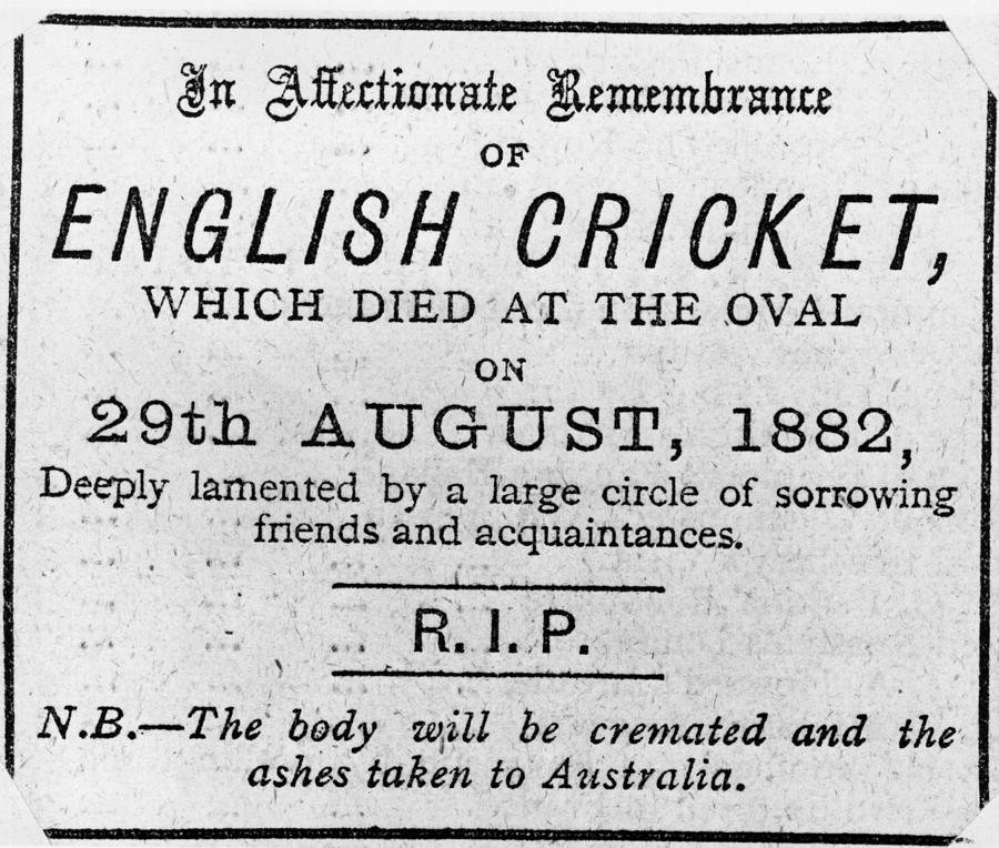 Death Of Cricket Photograph by Hulton Archive