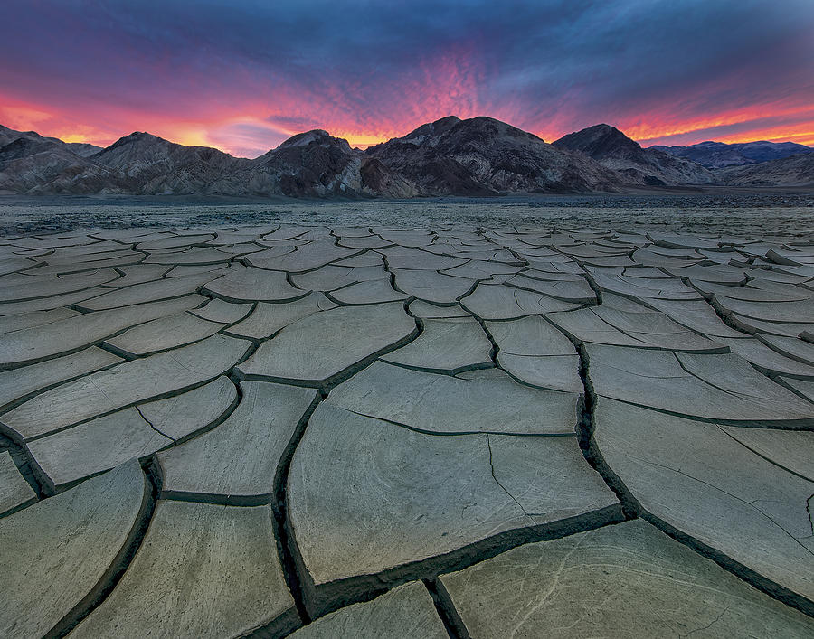 Death Valley Photograph - Death Valley by Judy Tseng