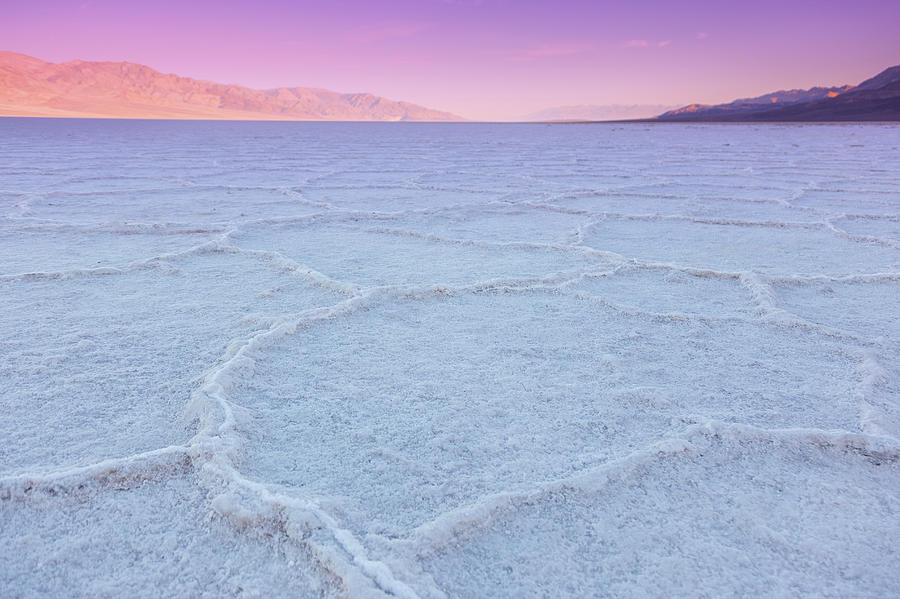 Badwater Basin Photograph - Death Valley National Park I by Ricky Barnard