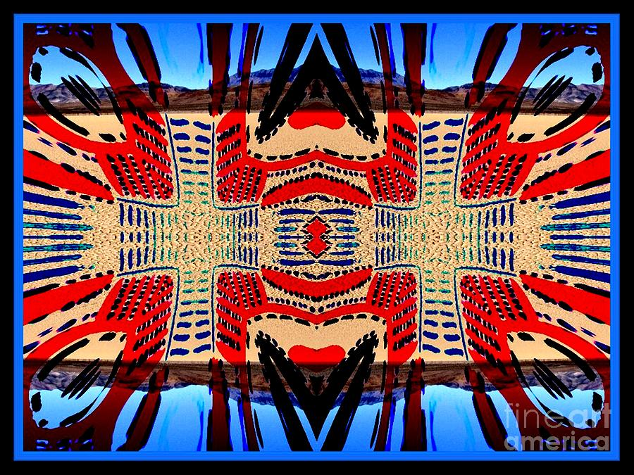 Tribal Digital Art - Death Valley Two  by Graham Roberts