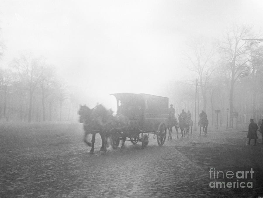 Death Wagon Carrying Body Of Landru Photograph by Bettmann