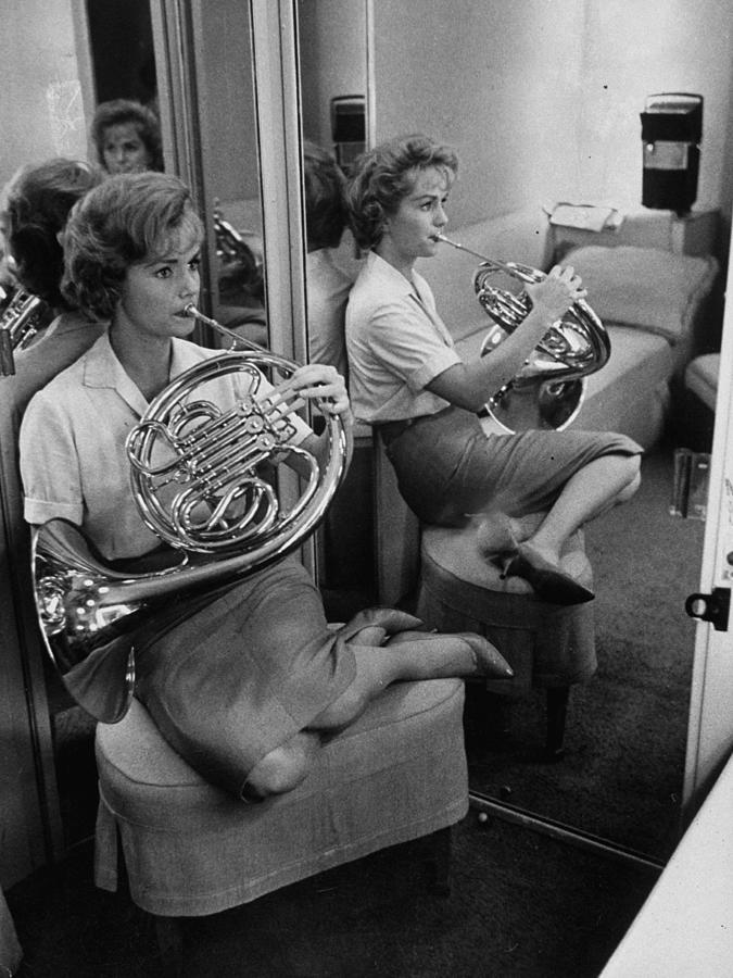 Debbie Reynolds Photograph by Allan Grant
