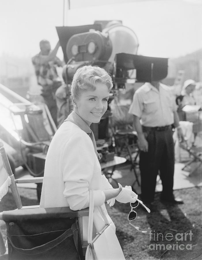 Debbie Reynolds On Set Of This Happy Photograph by Bettmann