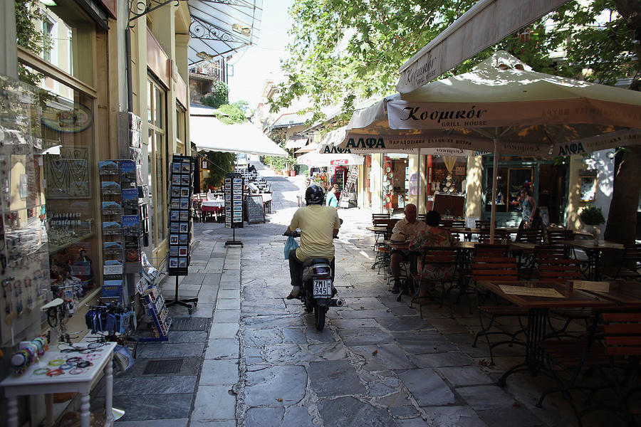 Debt Wracked Greece Prepares For Photograph by Oli Scarff