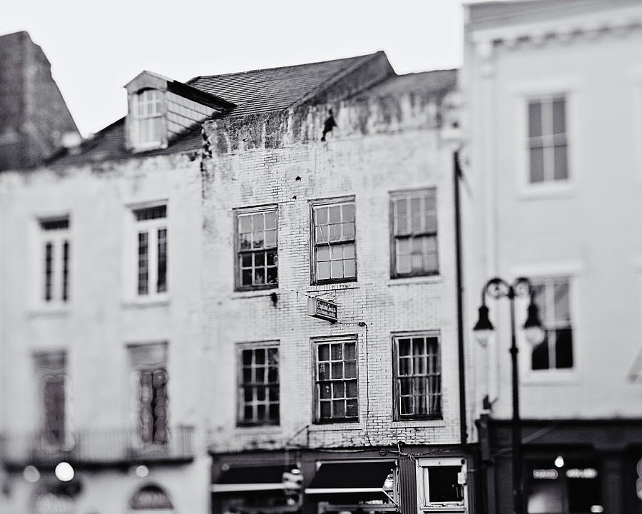 Decatur In Black And White Photograph