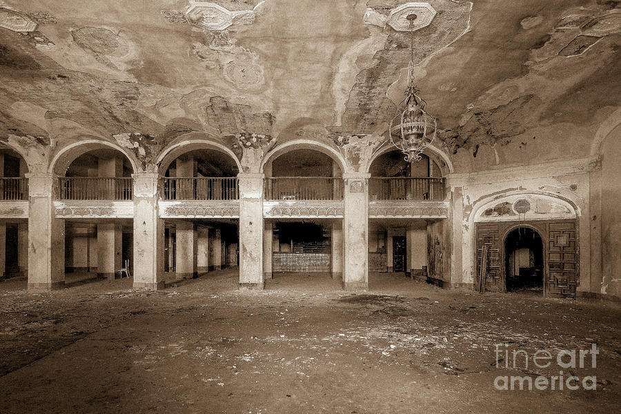Decayed Hotel Lobby by Imagery by Charly
