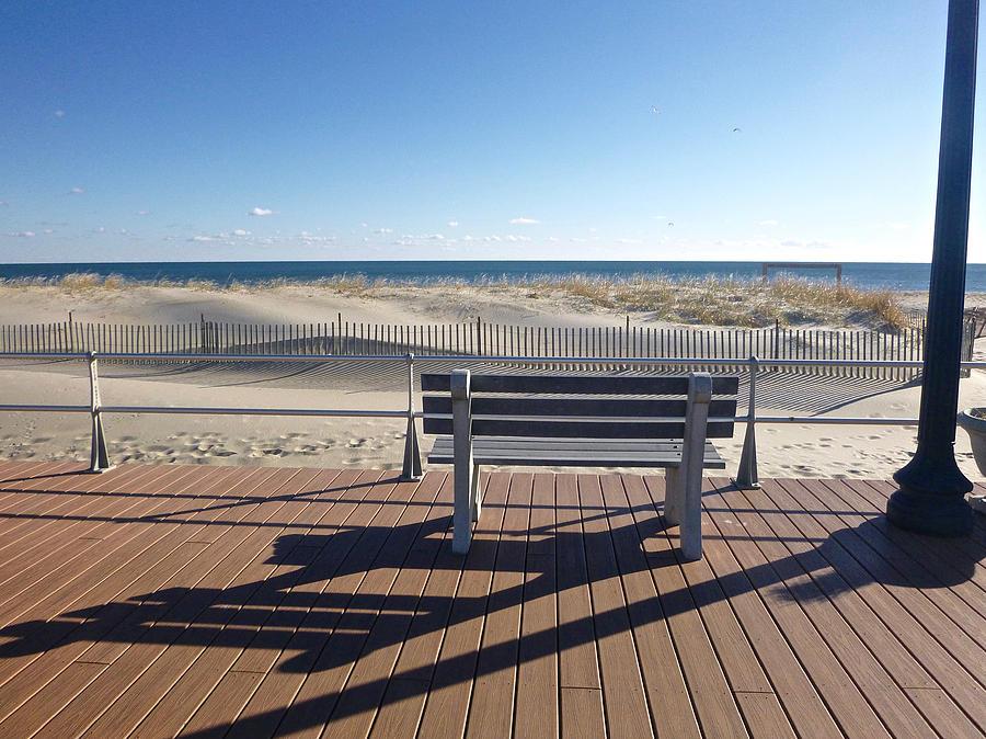 December on the Boardwalk by Ellen Paull