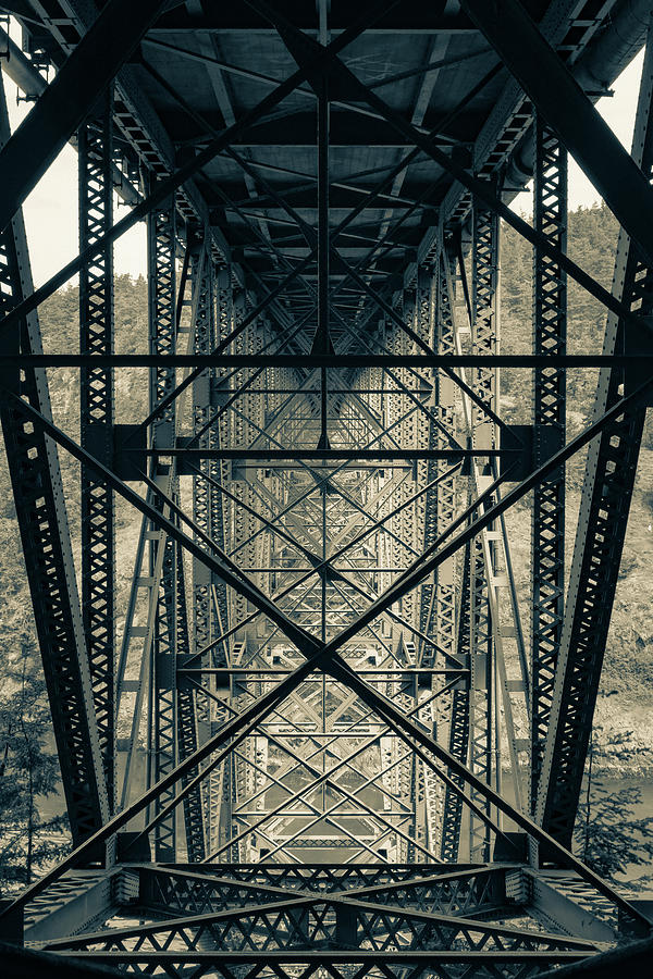 Deception Pass Bridge by Dave Matchett