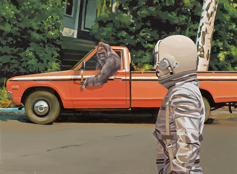 Decline of the Planet of the Apes by Scott Listfield