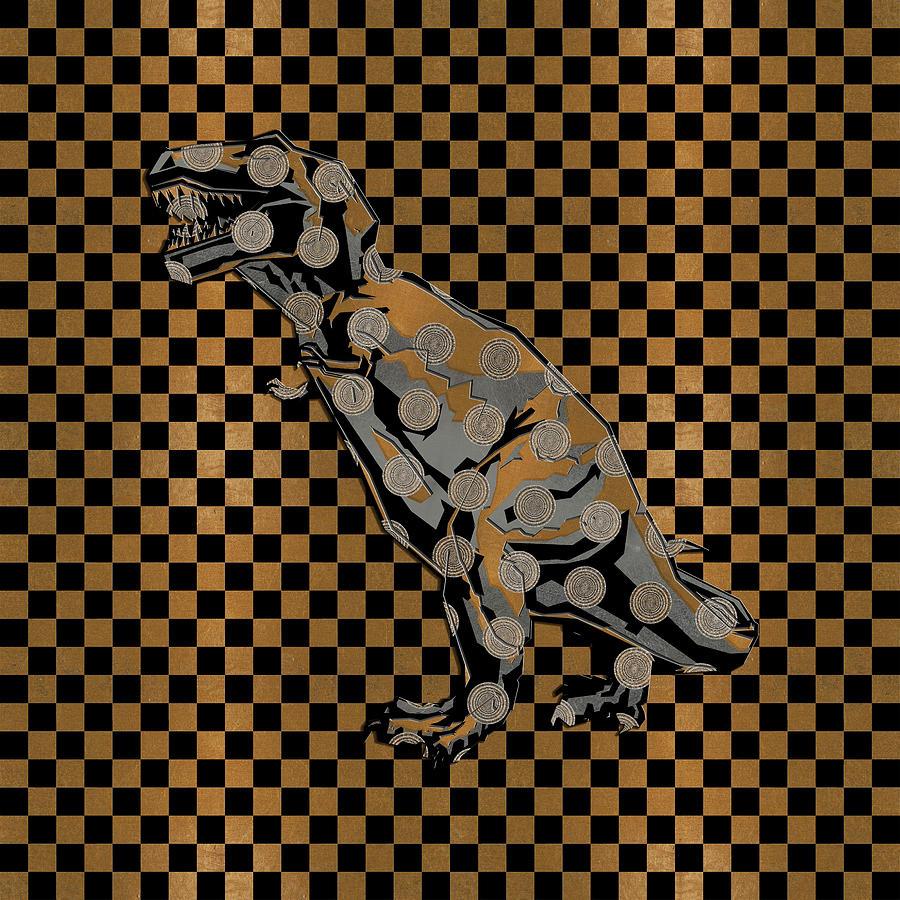 Deco Dino 2 by Diego Taborda
