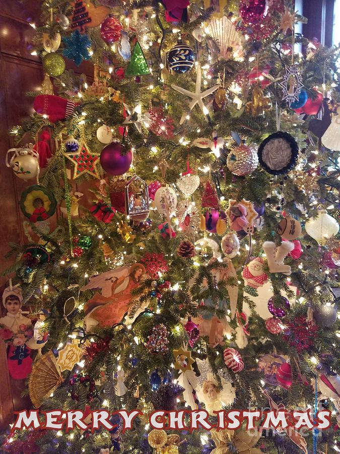 Decorated Christmas Tree by Jodie Marie Anne Richardson Traugott          aka jm-ART
