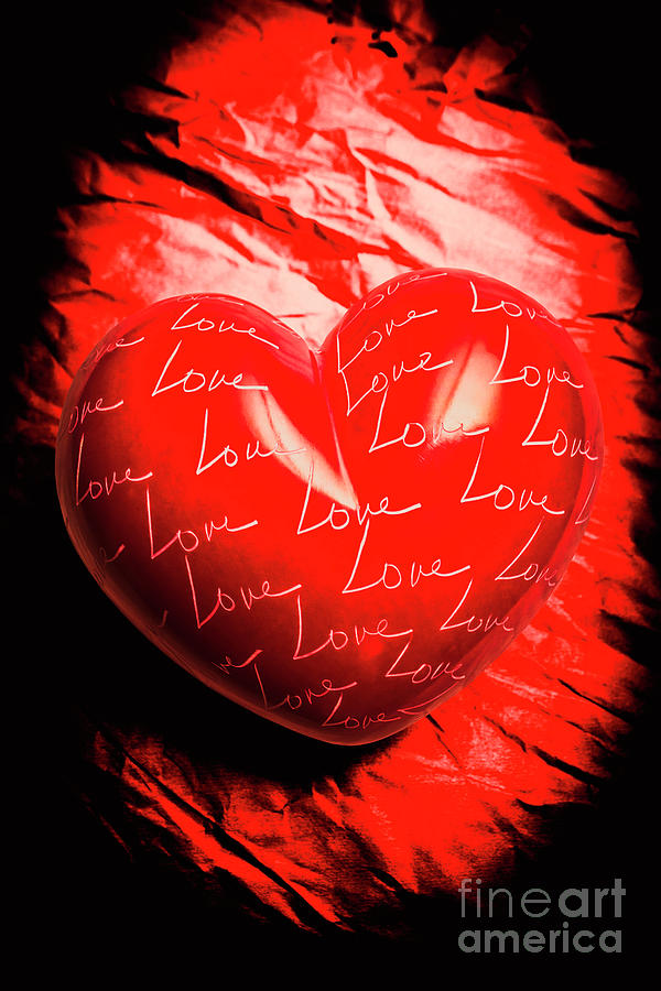 Heart Photograph - Decorated Romance by Jorgo Photography - Wall Art Gallery