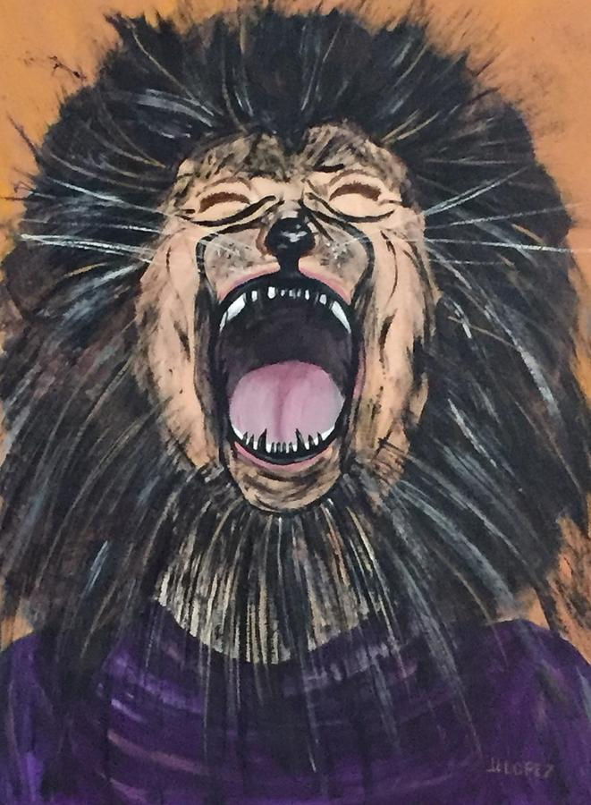 Lion Of Judah Mixed Media - Decree a Thing by Dayna Lopez
