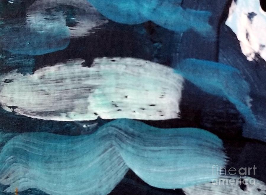 Deep Blue #3 by Maria Langgle