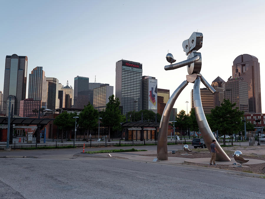 Deep Ellum Walking Tall Dallas Texas 062619 by Rospotte Photography